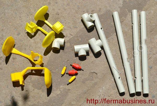 Материалы необходимые для изготовления поилки