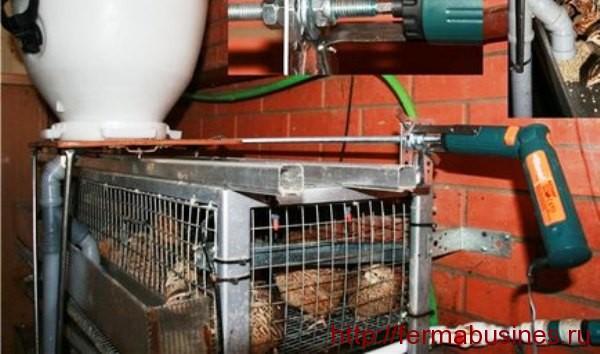 Автоматическое приспособление подачи корма