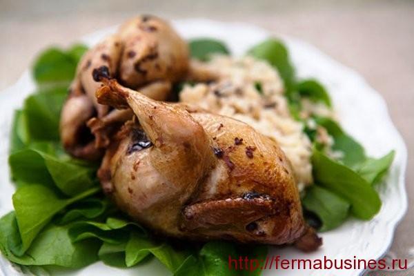 Красиво оформленное блюдо