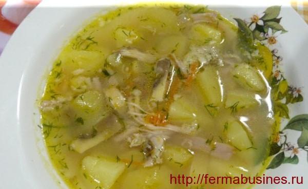 Гороховый нутриевый суп