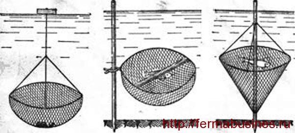Раколовка своими руками схема размеры из металла 10