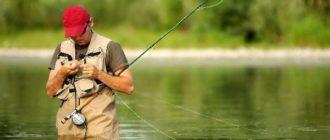 Рыбалка на червя