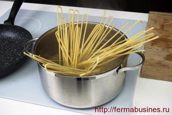 Так варятся спагетти