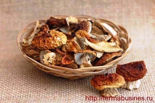 Сушеные белые грибочки